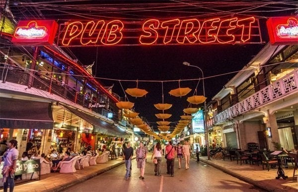 Pub Street is One of The Amazing Things To Do In Siem Reap