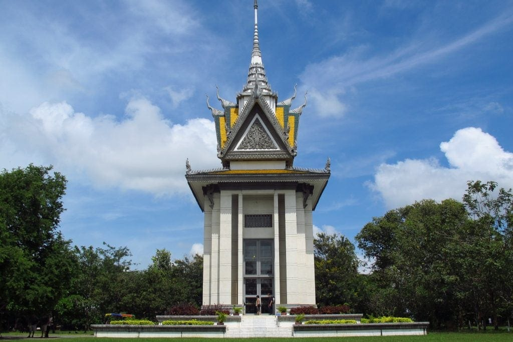 Choeung Ek Genocidal Center in Phnom Penh