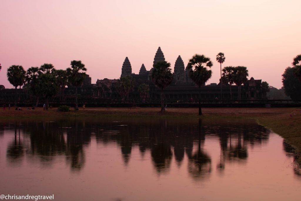 Morning at Angkor Wat is Magical and is an amazing thing to do