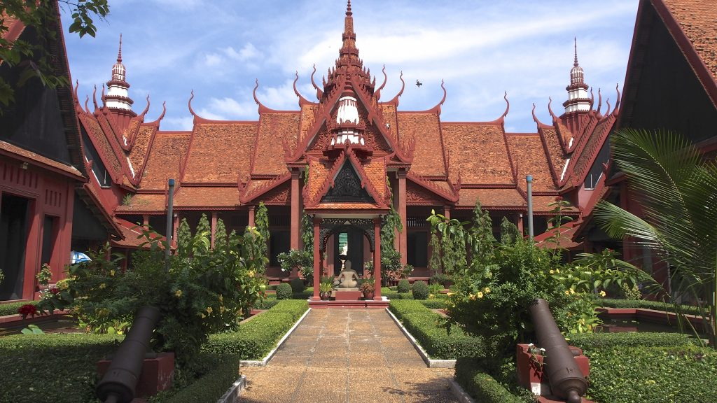 The National Museum of Cambodia is a great thing to do while in Phnom Penh