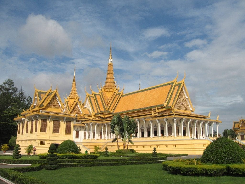 Seeing the Royal Palace is an exciting thing to do in Phnom Penh, Cambodia