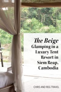 Did you know that you can go glamping in Siem Reap, Cambodia? We had the best time staying at The Beige, a luxury tent resort! If you're looking for a unique place to stay in Cambodia, The Beige is for you