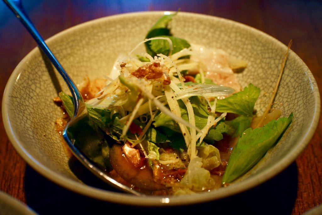 Steamed Coral Trout at Nahm Restaurant in Bangkok