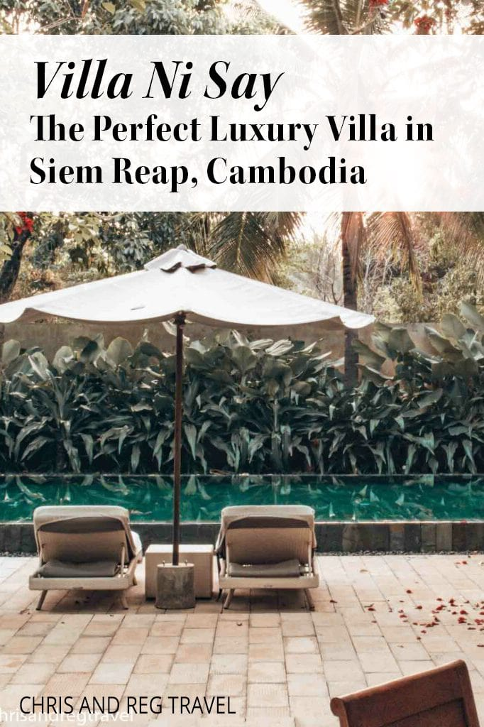 We had the most AMAZING stay at Villa Ni Say! If you're looking to relax at a luxury villa in Siem Reap, Cambodia, Villa Ni Say is the place for you