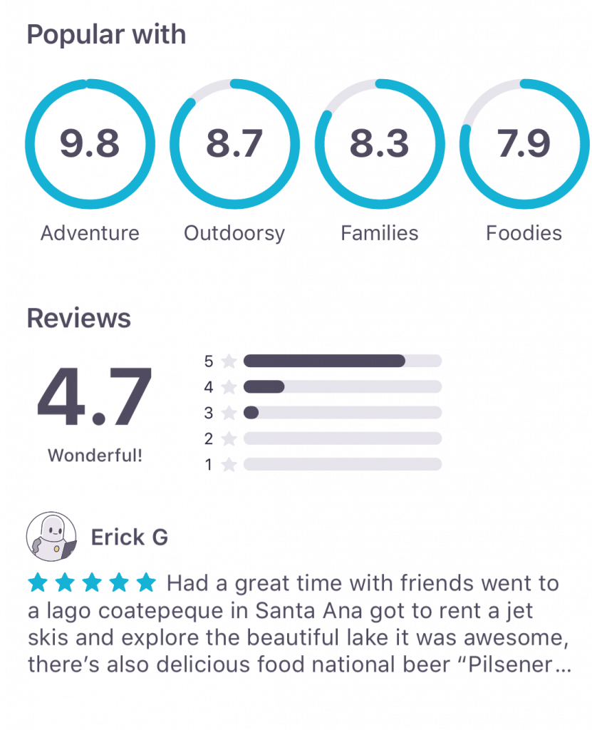 Check other user's reviews on the Skyscanner App!