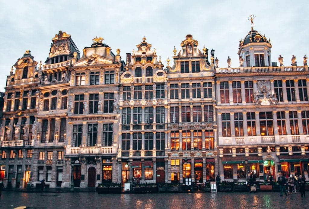 Grand Place Brussels, Belgium. Western Europe Travel Guide