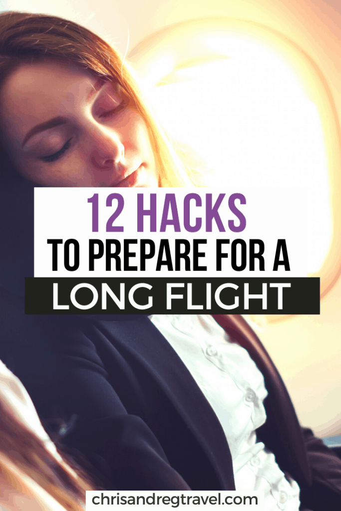12 hacks to prepare for a long flight