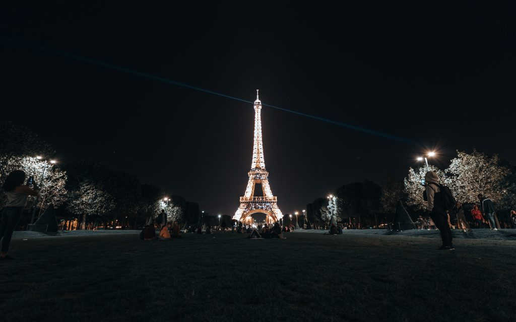 the Eiffel Tower in Paris France a romantic vacation spot