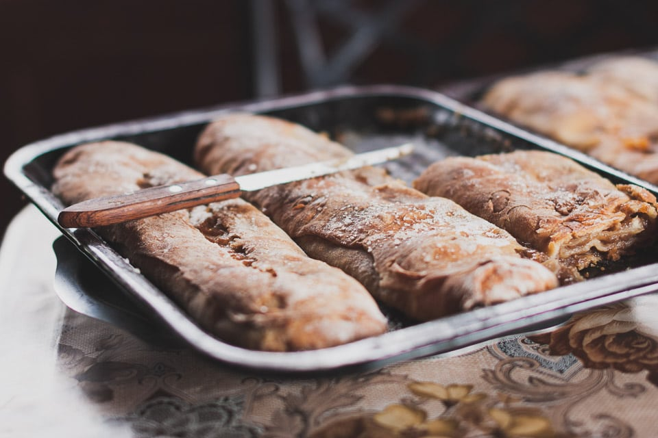 Traditional Romanian bread: eating local food is one of the best things to do in Romania