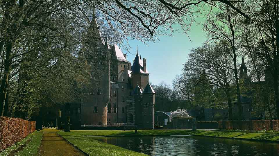 De Haar Castle from the netherlands