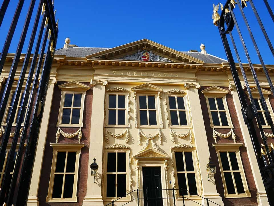 Mauritshuis Art Museum from the Hague