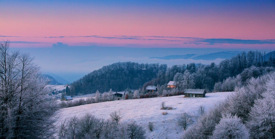 Poiana: the ski twon in Romania