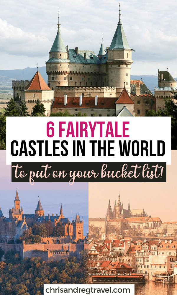 6 Gorgeous Castles Around the World