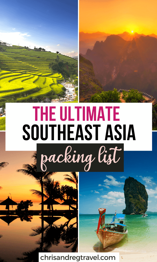 The Ultimate Southeast Asia Packing List
